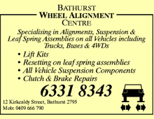 Bathurst Wheel Alignment Centre